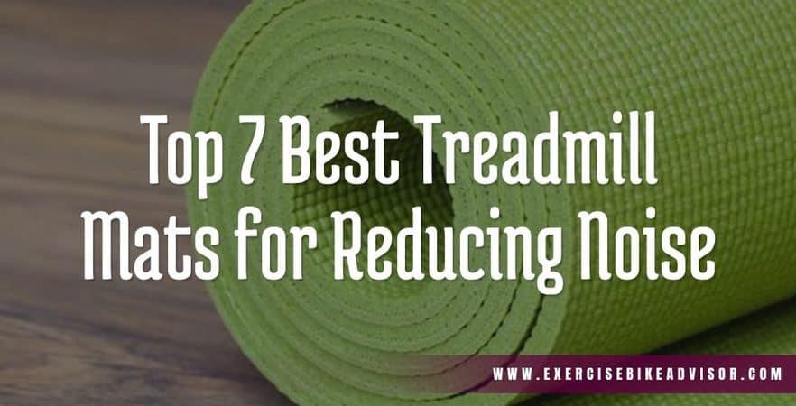 best treadmill mats for reducing noise