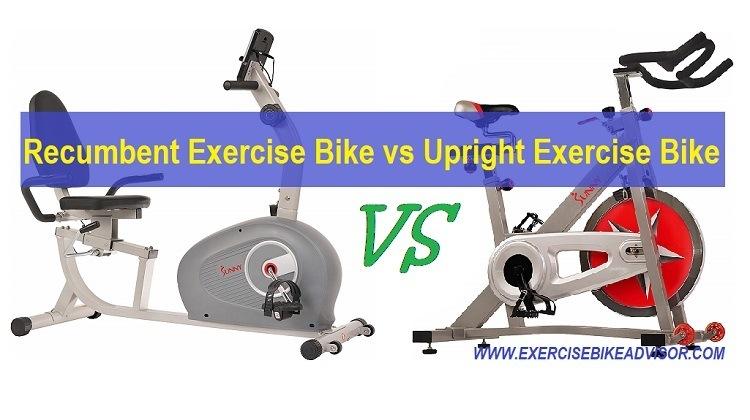 Recumbent Exercise Bike vs Upright Exercise Bike