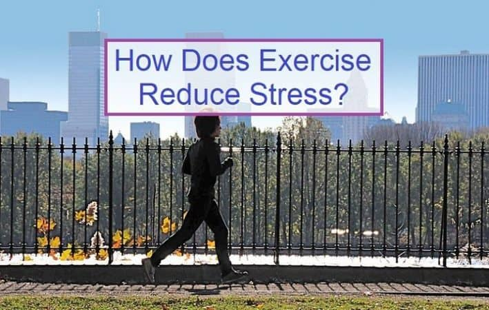 How Does Exercise reduce stress